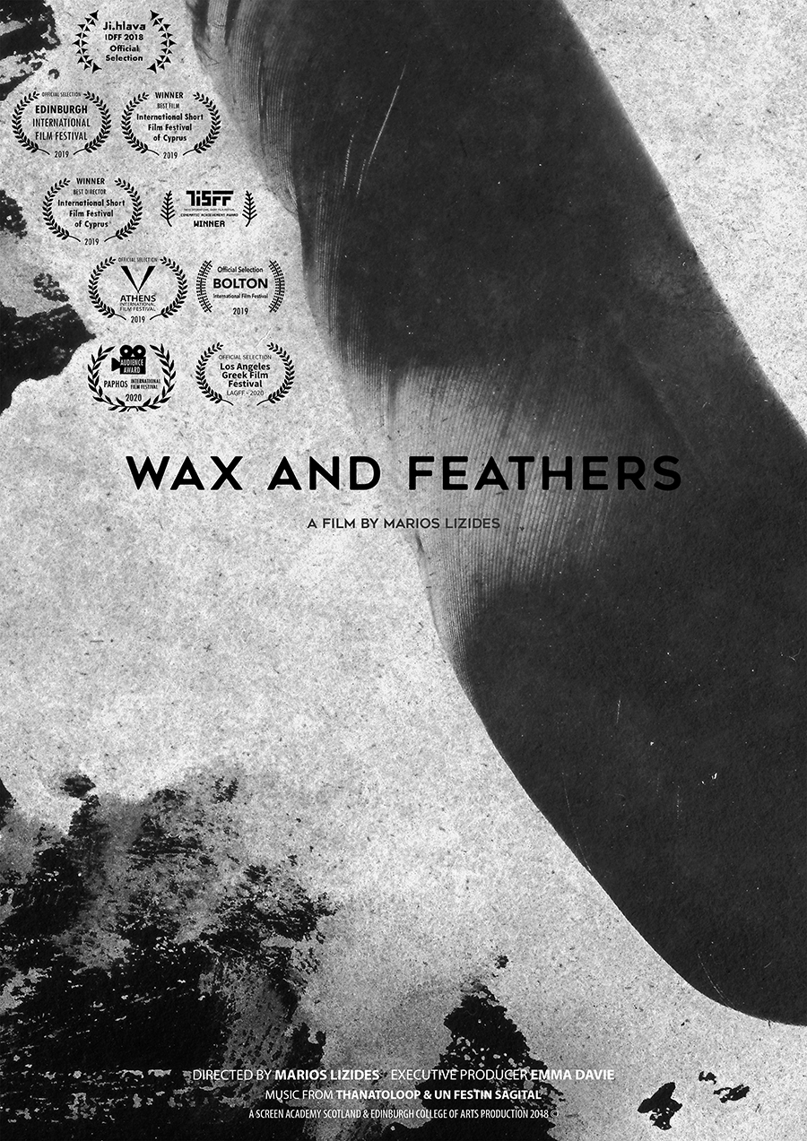 Wax and Feathers Poster