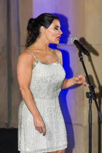 Singer Annet Artani on Opening Night