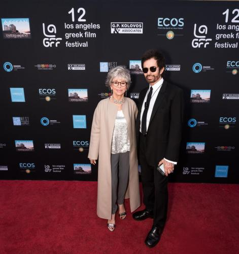 Actress Rita Moreno and Honoree George Chakiris