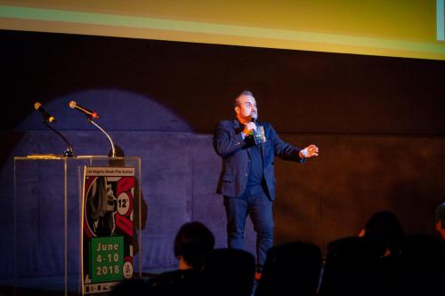 Comedian ANT performing
